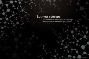 formation scientifique, molécule fond chimie technologie médicale ou scientifique. concept pour votre design vecteur
