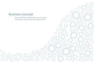 gouttelettes d'eau de pluie, gouttes d'eau sur l'illustration vectorielle fond blanc