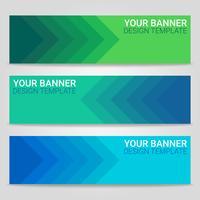 Abstrait beau modèle de bannière, illustration vectorielle, conception pour la présentation de l'entreprise vecteur