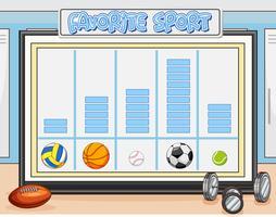 Comptez votre fiche de sport préféré