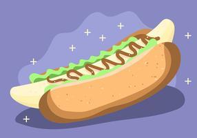 Banane Hot Dog comme nourriture saine