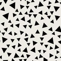 Fond transparent Concept antique moderne abstrait et classique. Thème élégant de design créatif géométrique. Illustration vecteur Couleur noir et blanc Forme de triangle de diamant de rectangle