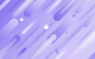 Vecteur de fond abstrait violet. Résumé de couleur violette. Contexte de conception moderne pour le modèle de présentation de rapport et de projet. Illustration vectorielle Dot et forme circulaire.