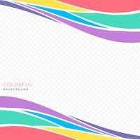 Fond coloré coloré créatif géométrique vecteur