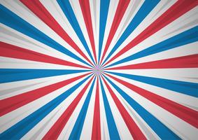 Abstack Background qui montre le patriotisme Cartoon Style. vecteur