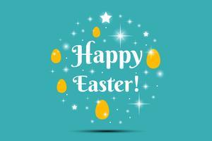 Joyeuses Pâques Illustration vecteur