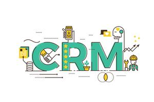 CRM: gestion de la relation client vecteur