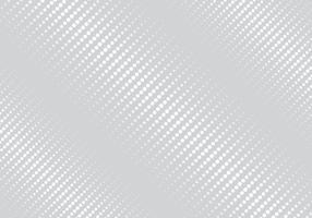 Couleur blanche abstraite rayures géométriques obliques demi-teinte fond gris de texture. vecteur