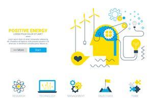 Concept d'énergie positive