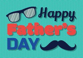 Heureuse fête des pères Vector