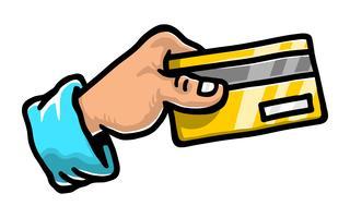 Carte de crédit vecteur