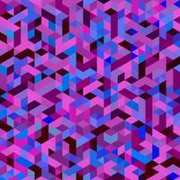 Maille triangulaire violette