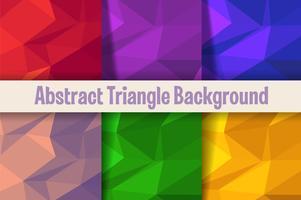 Motif de fond triangle