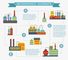 Set d'infographie vecteur