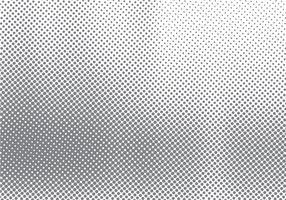 Effet de mouvement de demi-teinte abstraite avec fond noir et blanc dégradé de points dégradés et texture.
