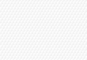 Abstrait d'hexagone blanc en relief de fond et de la texture. vecteur