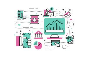 Illustration de l'investissement et de la finance