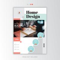 Hone Design, modèle de flyer