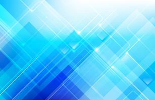 Abstrait bleu avec géométrie de base forme low poly et effet de ligature vecteur eps 10 003