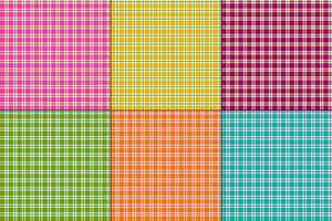 plaids colorés simples