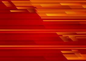 Illustration vectorielle de couleur rouge géométrique abstrait 10 EPS