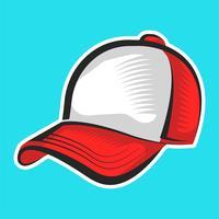 Casquette de baseball vecteur