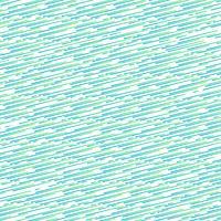 Motif de lignes arrondies fines de couleur dégradé abstrait bleu et vert incliné sur un fond de couleur blanche et la texture. vecteur