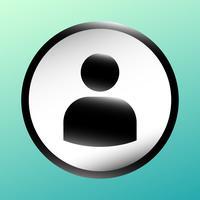 Utilisateur icône vecteur