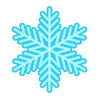 Flocon de neige Vector Icon