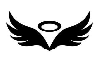 Ailes d'anges vecteur