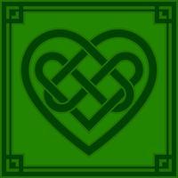 Illustration vectorielle de noeud celtique coeur vecteur