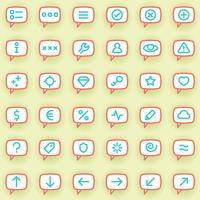 Icônes de message