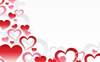 Graphique coeur romantique