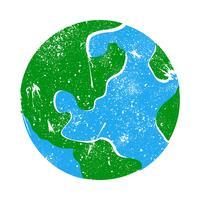 Globe Earth Planet graphique vecteur