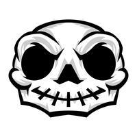 Crâne graphique vecteur