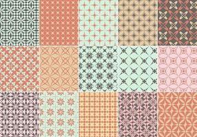 Pack vectoriel de motifs géométriques