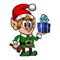 Elfe de Noël mignonne