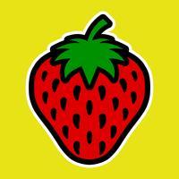 fraise vecteur