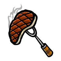 steak vecteur