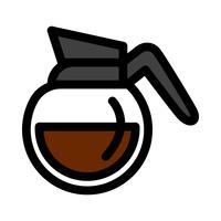 Cafetière boisson chaude bande dessinée Illustration