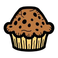 muffin vecteur