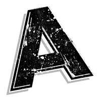 Lettre majuscule A