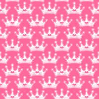 Couronne de princesse girly rose avec des bijoux de coeur