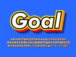 Logotype 3d simple et moderne