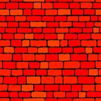 Mur de briques vecteur