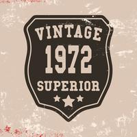 Timbre vintage supérieur