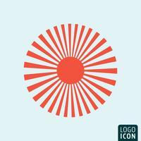 Modèle d'icône Sun