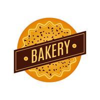 Collection de logo de boulangerie rétro vintage