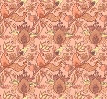 Ornement de paisley Indian National pour le coton, les tissus de lin.