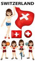 Représentant suisse et nombreux sports